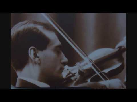 MANUEL QUIROGA plays Spanish Dances for violin and piano (Op. 23 nº2) from Pablo Sarasate