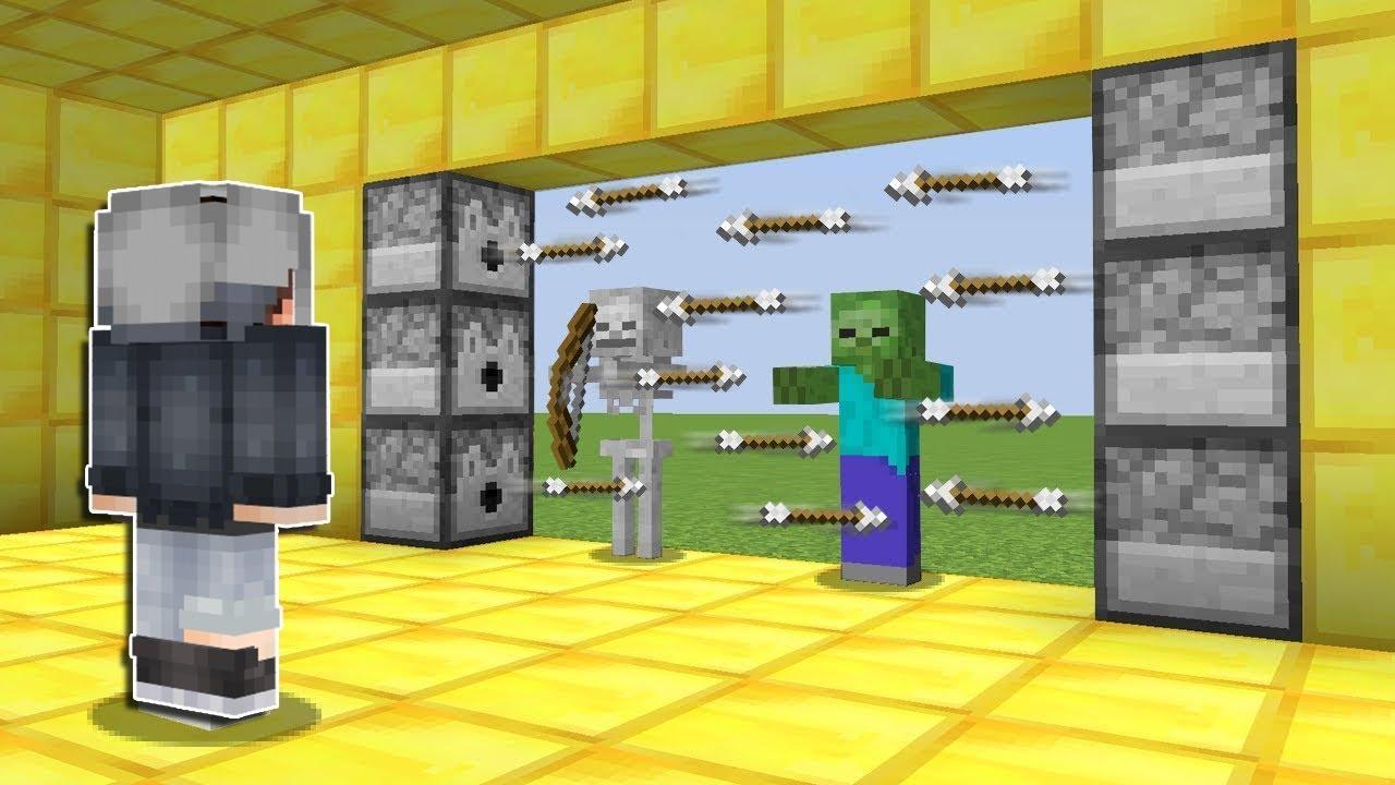 SINIRSIZ OK ATAR KAPI NASIL YAPILIR ? - Minecraft