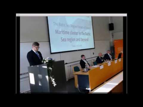 Baltic Sea Region Forum 2016 - opening