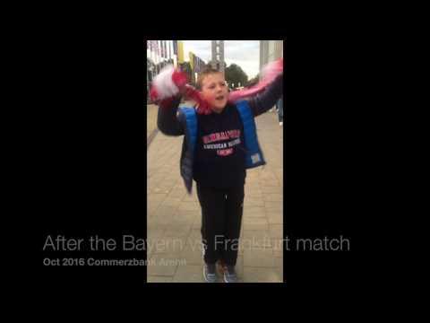 Post Bayern Munich vs Frankfurt 2016