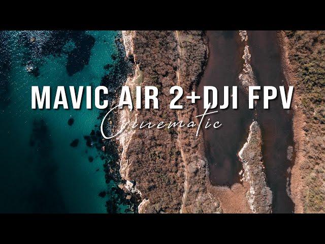 DJI FPV / MAVIC AIR 2 - BULGARIAN COASTLINE 4K CINEMATIC