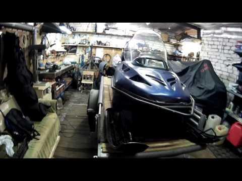 Доработка прицепа МЗСА под перевозку снегохода и лодки ПВХ