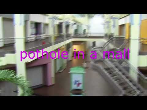 tyler, the creator  pothole except its playing in an empty mall