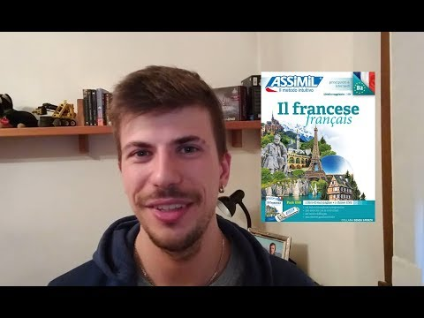 Italian speaks French after 1 month (using ASSIMIL)