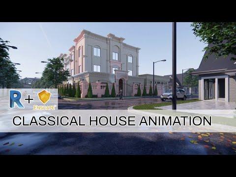 Revit+Enscape 2.7 Animation | Classical House