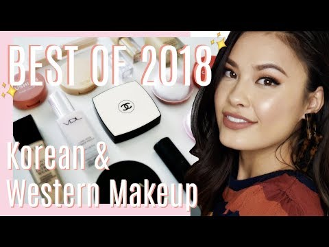 BEST OF MAKEUP 2018: My Korean & Western Ultimate Favorites!