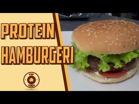 Protein Hamburgeri (49 Gram Protein) - FitYemek
