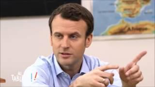 Emmanuel Macron explique aux enfants ce qu'est une famille (selon lui)