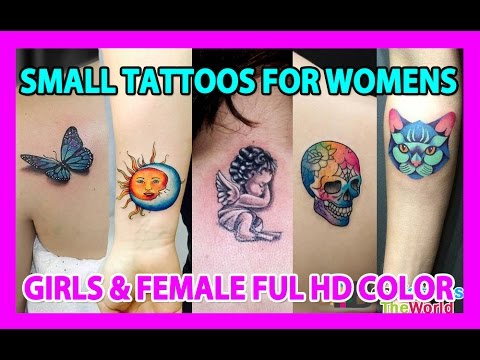 Top 50 Best Small Tattoos Designs For Women & Girls   Small Tattoos Ideas For Women & Female