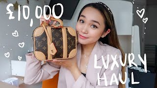 HUGE LONDON LUXURY HAUL: Chanel, Louis Vuitton, Dior, + more!