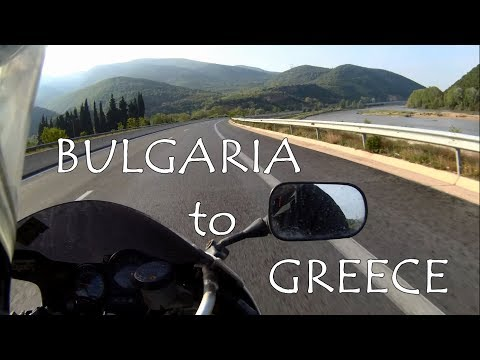 Bulgaria to Greece / Europe motorcycle trip 2018 part 4