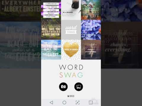 WORD SWAG APP : HOW TO EDIT IG TEMPLATES