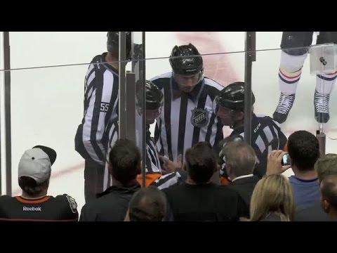NHL LiveWire: Refs discuss Shaw's header