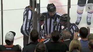 NHL LiveWire: Refs discuss Shaw