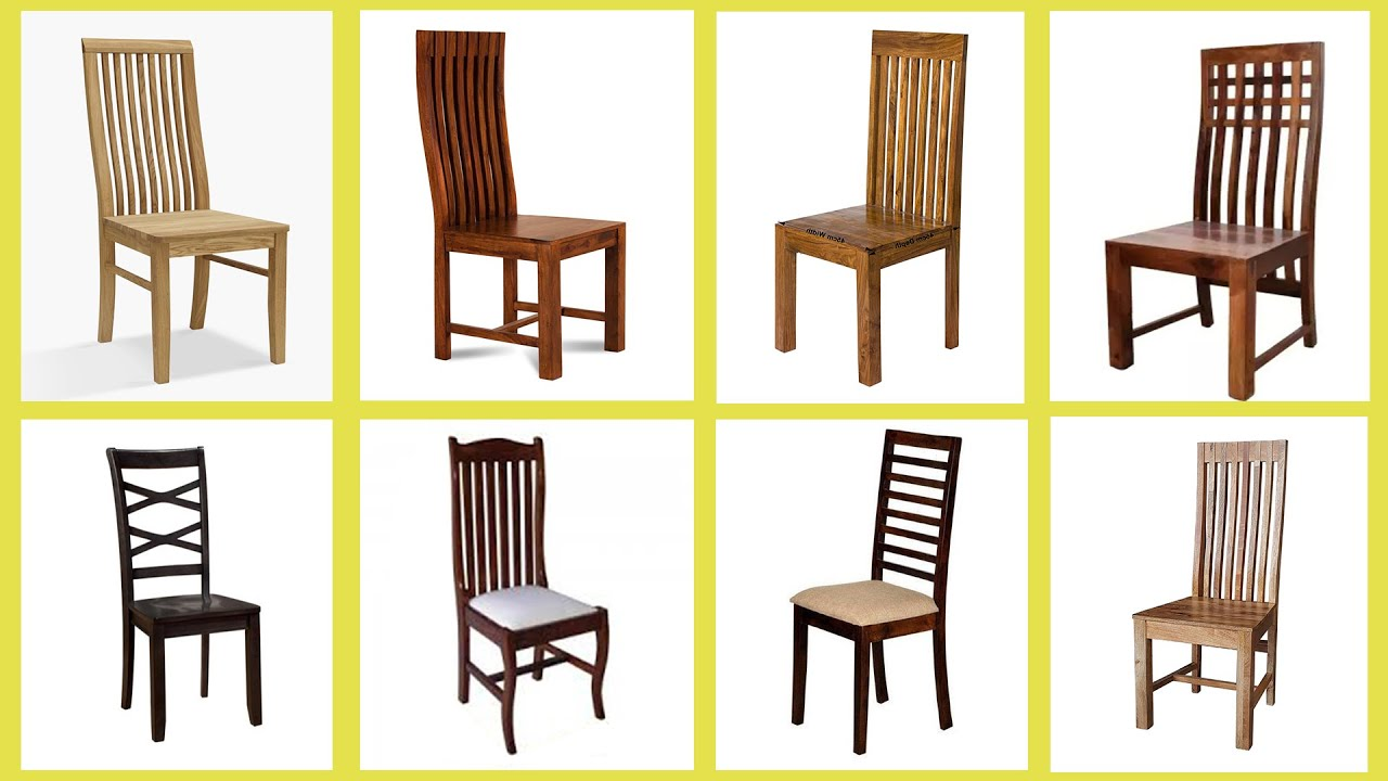 70 Wooden Dining Chair Designs At Low Cost Youtube
