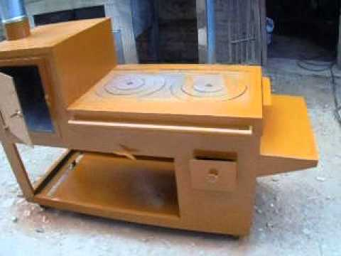 Cocina mejorada port til con horno youtube - Como hacer una cocina de lena ...