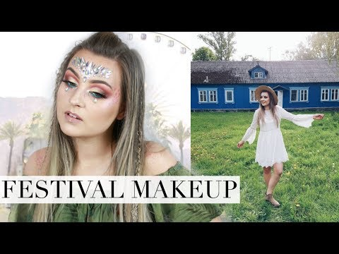 Test Nowości Kosmetycznych Makijaż Festiwalowy Lamakeupebella