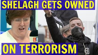 Shelagh Fogarty Gets OWNED TWICE on Terrorism - LBC