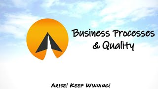 #15 : Business Processes & Quality - Arise! (English)
