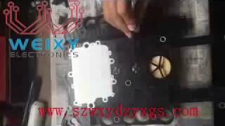 how to repair benz 7g 722 9 speed sensor plate y3 8n1 y3 8n2 fault how to replace the sensor