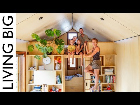 Family of 5s Modern Tiny House Packed With Clever Design Ideas