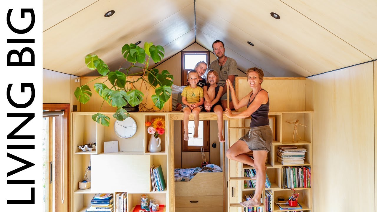 Family Of 5 S Modern Tiny House Packed With Clever Design