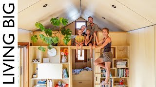 Family Of 5's Modern Tiny House Packed With Clever Design Ideas