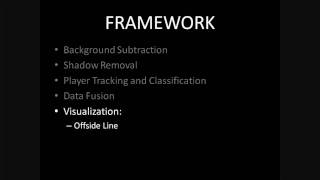 Player Localization and Tracking using Multiple Static Cameras