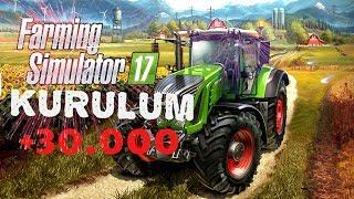 Farming Simulator 2017 Nasıl İndirilir Kurulur Türkçe Yama Yapılır Kesin İzle  #2016 1080P
