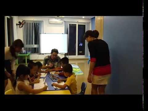 Video buổi học thử lớp tiếng Anh mầm non của trung tâm tiếng Anh Greenkids
