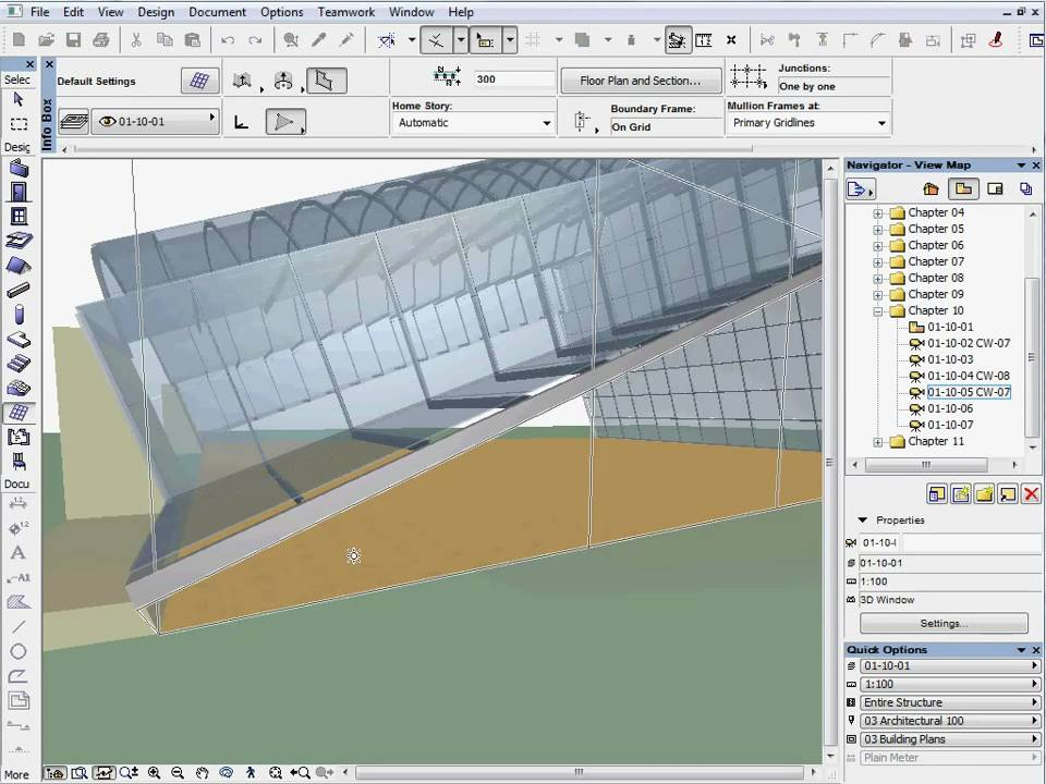 how to make a sloped roof in archicad
