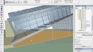 Archicad 12 New Feature Tutorials - The Curtain Wall Tool 10