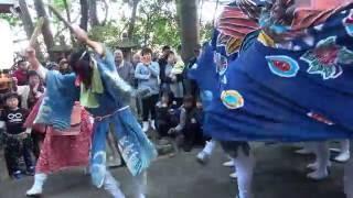 【祭り】 和歌山県田辺市磯間の獅子舞