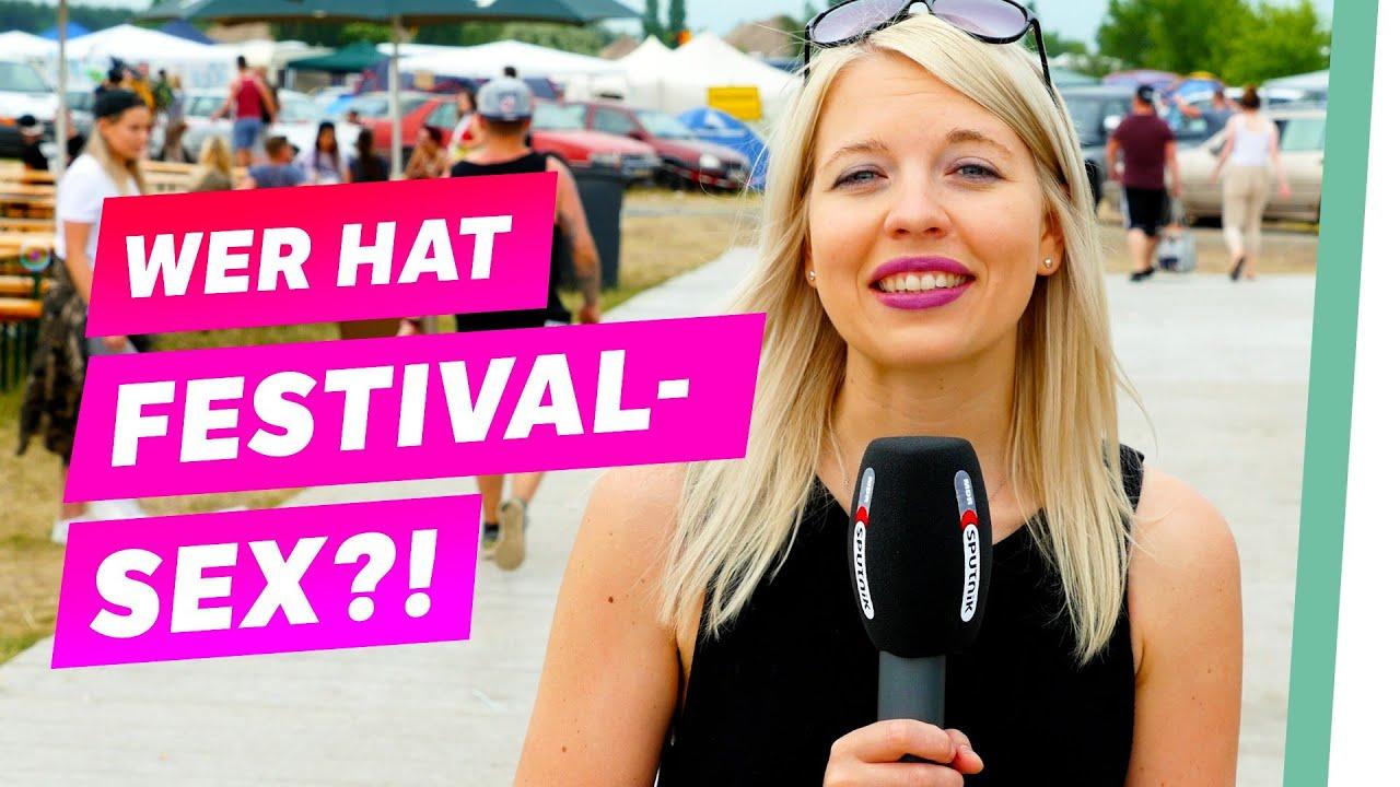 Auf festival ficken Update