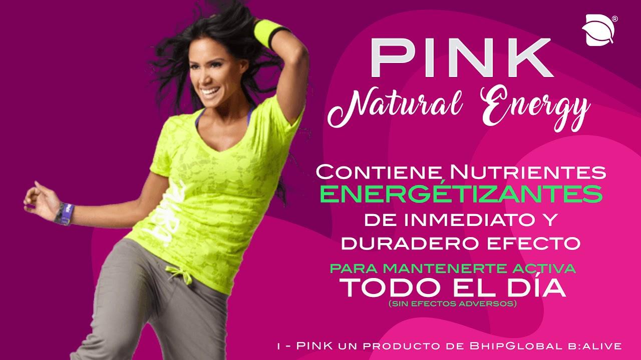 Pink bebida para bajar de peso