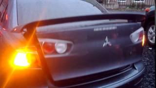 Автоматическое открытие багажника Lancer X