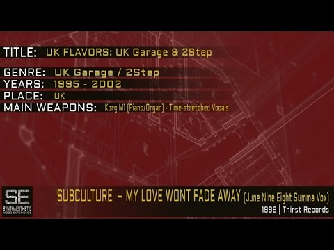 Subculture - My Love Wont Fade Away (June Nine Eight Summa Vox) (Thirst Records   1998)