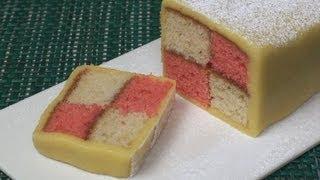 Battenberg Cake Recipe