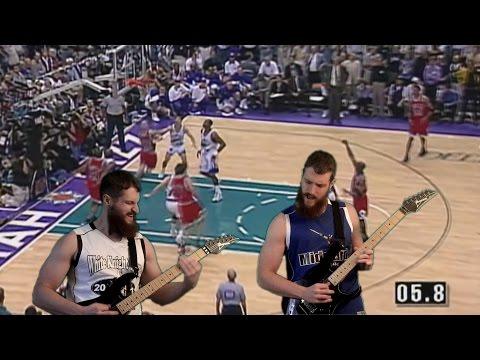 NBA on NBC theme song (Roundball Rock) [Guitar Cover]