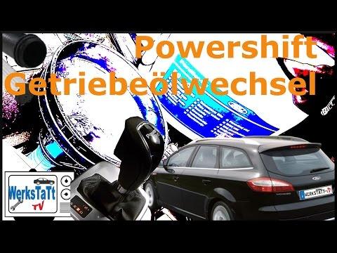 ►Ford Mondeo◄ Powershift® Getriebe Ölwechsel [DCT Oilchange] ◢WERKSTATT-TV◣
