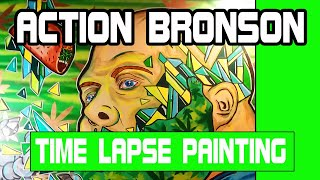 TIME LAPSE PAINTING: Action bronson munchies