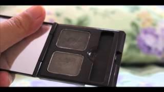Skinfood Choco Eyebrow Powder Cake #1 Swatches Thumbnail