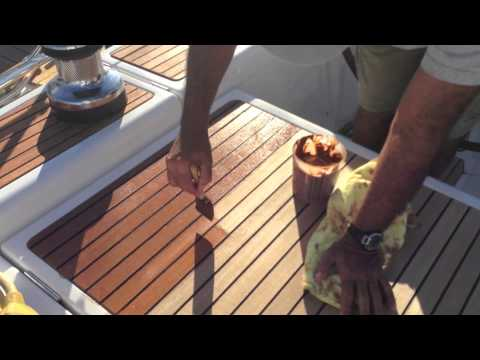 How To: Apply Teak Sealer to your yacht or sailboat By: Ian Van Tuyl