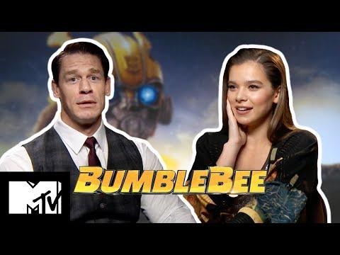 Hailee Steinfeld & John Cena Play COMPLETE THE LYRICS   Bumblebee   MTV Movies