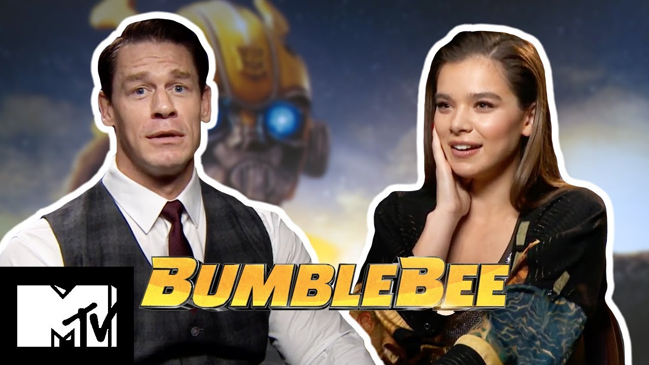 Hailee Steinfeld & John Cena Play Complete The Lyrics | Bumblebee | MTV Movies