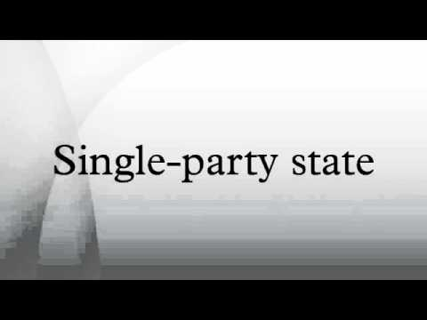 Single-party state