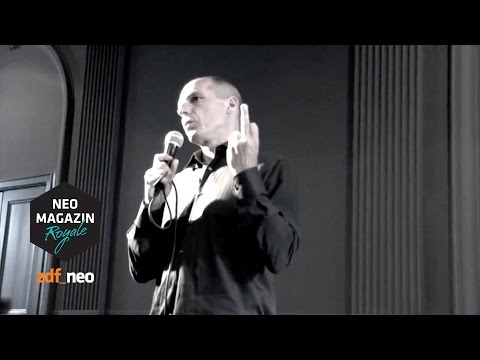 Varoufakis and the fake finger #varoufake | NEO MAGAZIN ROYALE mit Jan Böhmermann - ZDFneo