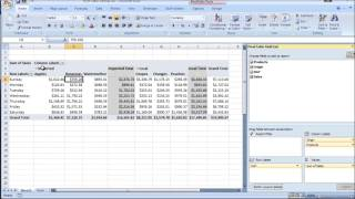 Excel Pivot Table Tutorial thumbnail