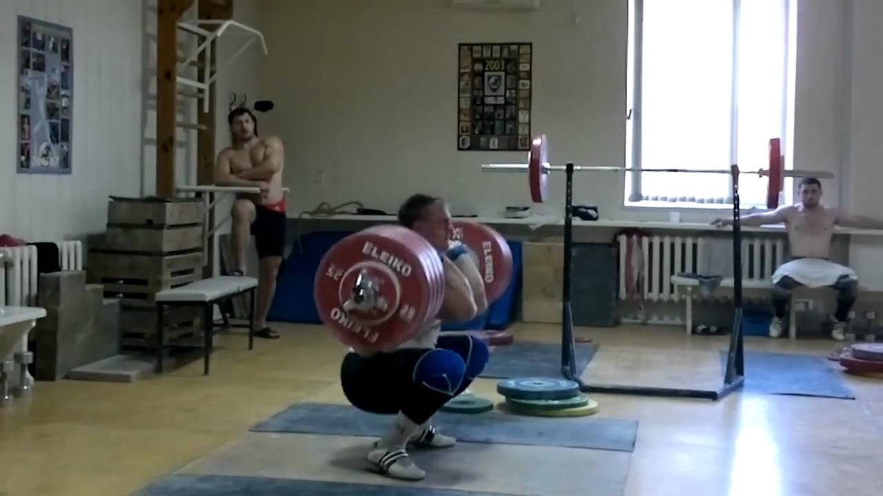 Dmitry Lapikov, Training 240 kg - YouTube