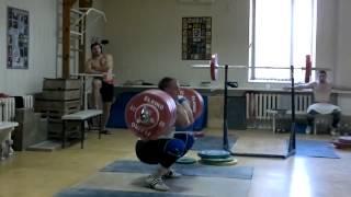 Dmitry Lapikov, Training   240 kg